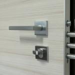 Particolare serratura porta blindata per interni